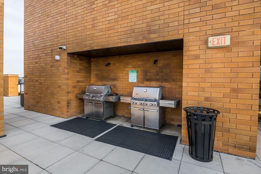 Rooftop Deck Features a BBQ Grilling Station! - 910 M ST NW #525, WASHINGTON