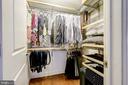 Custom shelving - 1701 KALORAMA RD NW #206, WASHINGTON