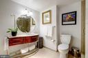 Elegant bath - 1701 KALORAMA RD NW #206, WASHINGTON