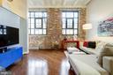 Gorgeous exposed brickwork - 1701 KALORAMA RD NW #206, WASHINGTON