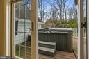 Another view of the hot tub. - 6804 BROXBURN DR, BETHESDA