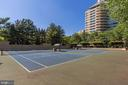 Tennis courts - 5600 WISCONSIN AVE #1408, CHEVY CHASE