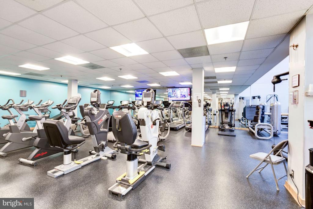 Exercise room - 5600 WISCONSIN AVE #1408, CHEVY CHASE