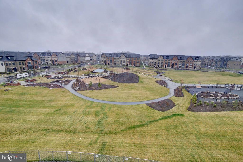 View from rooftop terrace of Evermoore Park - 43400 THREE FORKS TER, ASHBURN