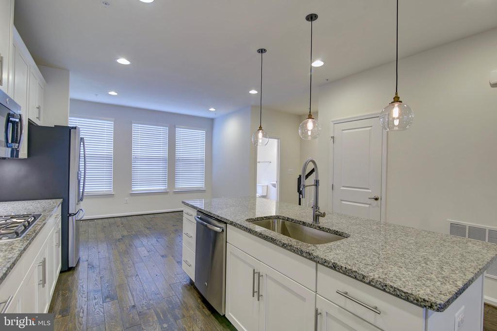 Center Island with granite countertops - 43400 THREE FORKS TER, ASHBURN