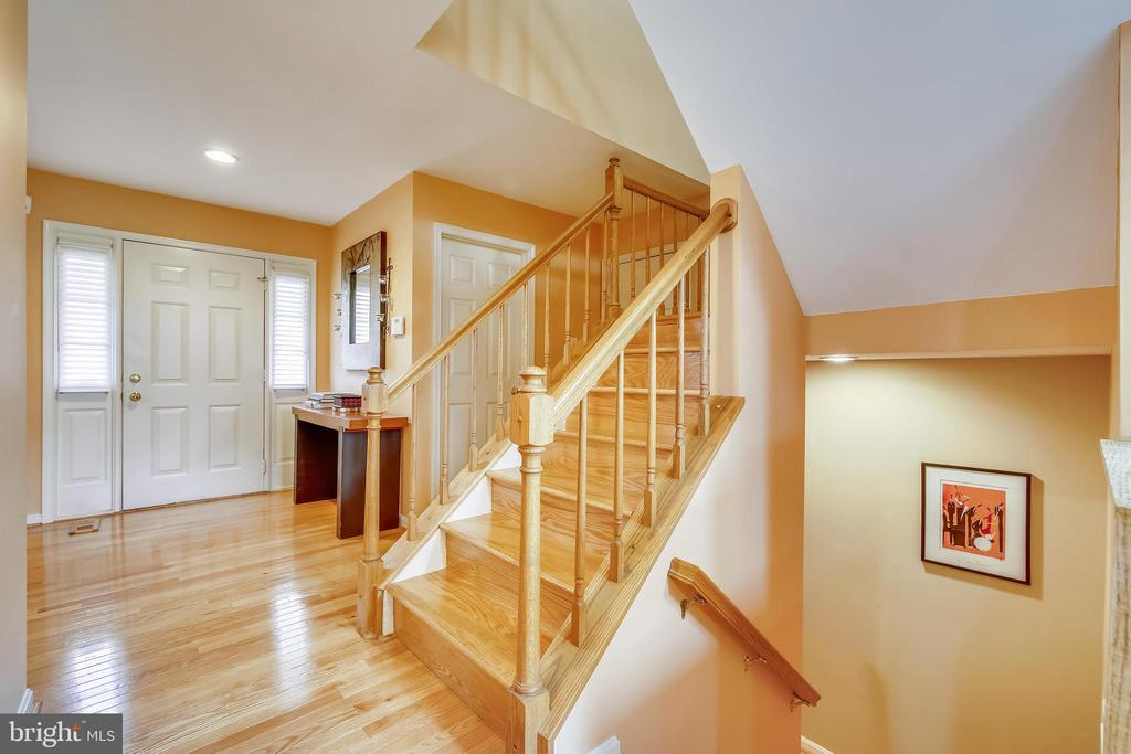 Foyer And Staircase - 738 SONATA WAY, SILVER SPRING