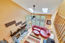 View from upper hallway - 738 SONATA WAY, SILVER SPRING