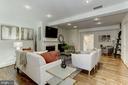 Wood Floors throughout just refinished. - 420 RIDGE ST NW, WASHINGTON