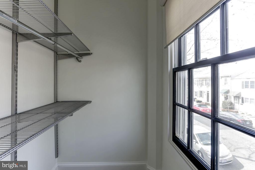 ELFA closet in 2nd bedroom - 420 RIDGE ST NW, WASHINGTON