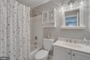 Private bath in Bedroom 2 - 20464 SWAN CREEK CT, STERLING