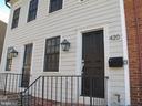 Second entrance into home office. - 420 RIDGE ST NW, WASHINGTON