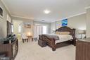 Master bedroom view to bath - 8932 ATATURK WAY, LORTON