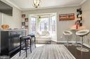 Living room with bay window - 8932 ATATURK WAY, LORTON