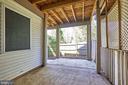 Lower level patio - 8932 ATATURK WAY, LORTON