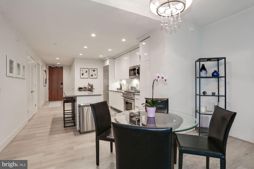 Great layout for hosting dinner parties - 45 SUTTON SQ SW #704, WASHINGTON