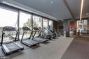 Well-equipped community gym + Yoga Studio - 45 SUTTON SQ SW #704, WASHINGTON