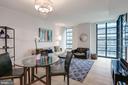 Open dining & living room - 45 SUTTON SQ SW #704, WASHINGTON