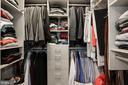 Walk-in Master closet w/California Closet system - 45 SUTTON SQ SW #704, WASHINGTON