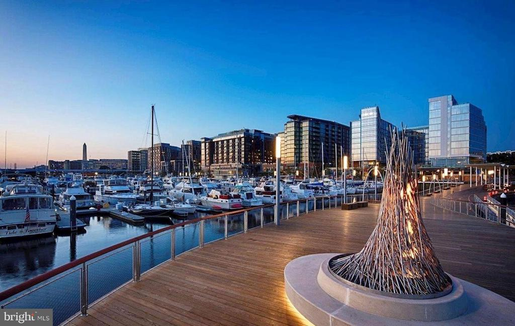 The Wharf offers the best of DC waterfront living - 45 SUTTON SQ SW #704, WASHINGTON