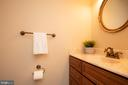 1/2 bath on main level - 7 PHILLIPS DR NW, LEESBURG