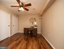 Bonus room / optional bedroom in basement - 7 PHILLIPS DR NW, LEESBURG