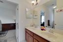 Bedroom #4 w/ Jack & Jill Bathroom - 4507 BRIDLE RIDGE RD, UPPER MARLBORO