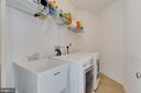 Second Floor Laundry Room - 4507 BRIDLE RIDGE RD, UPPER MARLBORO