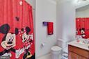 Princess Suite Full Bathroom - 4507 BRIDLE RIDGE RD, UPPER MARLBORO
