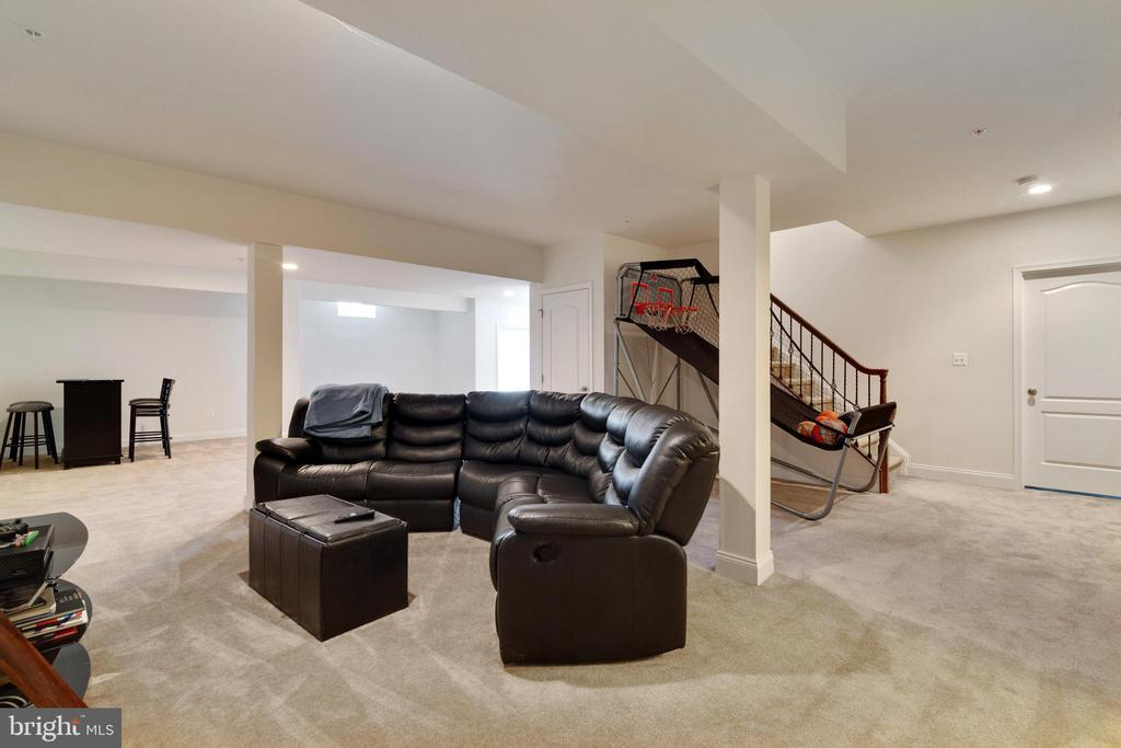 Basement - 4507 BRIDLE RIDGE RD, UPPER MARLBORO