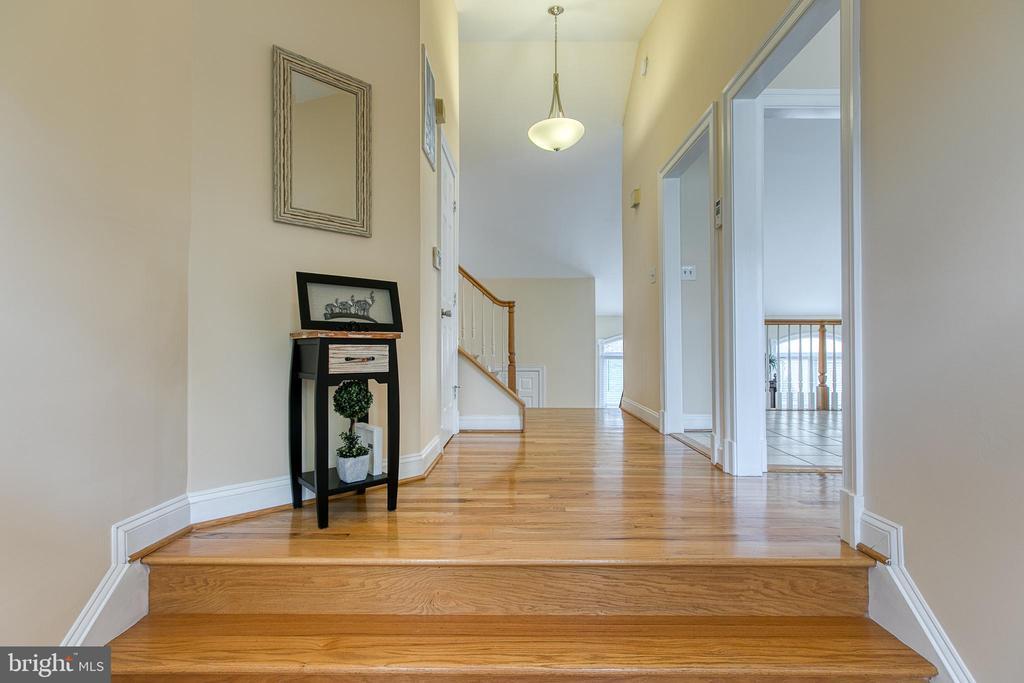 Beautiful hardwood floors - 5 EMERSON CT, STAFFORD