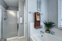 Master Bathroom with separate shower - 5 EMERSON CT, STAFFORD