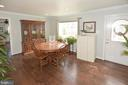 Diniing room for friends and family. - 314 MANASSAS DR, MANASSAS PARK