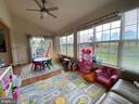 Bonus sunroom with fantastic views - 108 E. STATION TER., MARTINSBURG