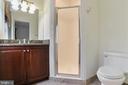 Bedroom 3 ensuite full bath, tile and granite - 2375 BALLENGER CREEK PIKE, ADAMSTOWN