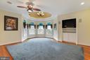 Luxurious Master Bedroom with victorian turret - 2375 BALLENGER CREEK PIKE, ADAMSTOWN