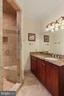 Vanity 1 with storage and walk-in shower ROOM - 2375 BALLENGER CREEK PIKE, ADAMSTOWN