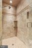 Rainfall shower, heated flooring, wall showers - 2375 BALLENGER CREEK PIKE, ADAMSTOWN