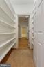 Closet corridor storage, custom built-in shelving - 2375 BALLENGER CREEK PIKE, ADAMSTOWN