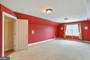 Secret media room with spiral staircase access - 2375 BALLENGER CREEK PIKE, ADAMSTOWN