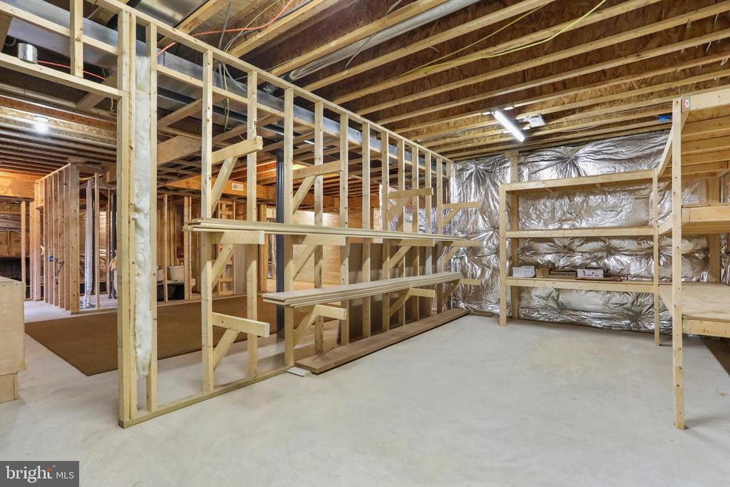 Storage area, shelving for wood storage - 2375 BALLENGER CREEK PIKE, ADAMSTOWN