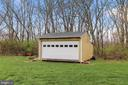 Outdoor storage shed/stage that has electricty - 2375 BALLENGER CREEK PIKE, ADAMSTOWN
