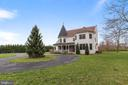 Circle driveway with the perfect Christmas tree! - 2375 BALLENGER CREEK PIKE, ADAMSTOWN