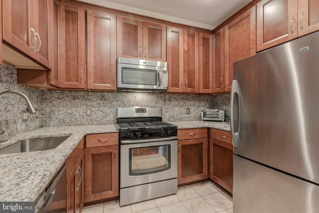 Kitchen w/42 inches cabinets  Stainless Steel Appl - 1645 INTERNATIONAL DR #407, MCLEAN