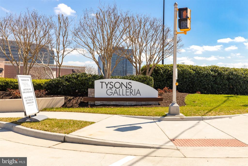 Tysons Metro, shopping, movies, restaurants - 1645 INTERNATIONAL DR #407, MCLEAN