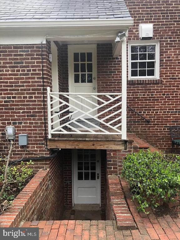 Door to lower level and kitchen - 7007 CONNECTICUT AVE, CHEVY CHASE