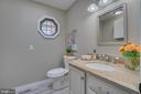 Powder Room/Laundry Combo!!! - 401 CORNWALLIS AVE, LOCUST GROVE