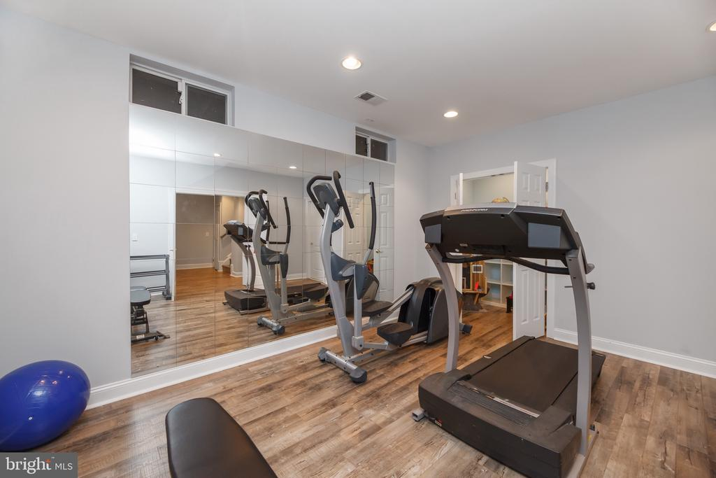 Lower Level Home Gym - 18754 KIPHEART DR, LEESBURG