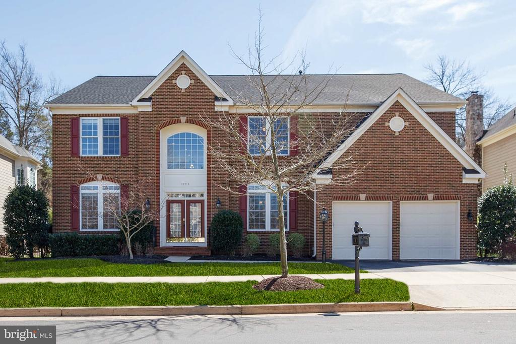 Front Elevation - Huntley Model! - 18754 KIPHEART DR, LEESBURG