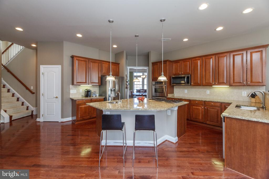 Kitchen with plenty of storage - 18754 KIPHEART DR, LEESBURG