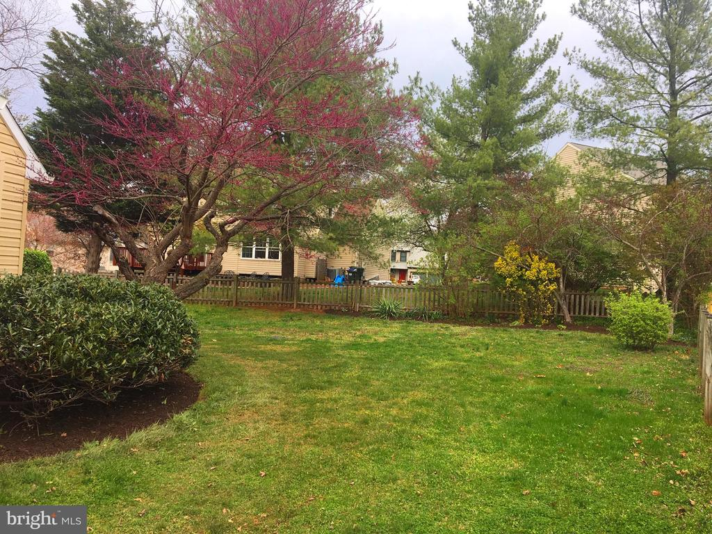 Lots of level yard to use and enjoy - 13192 ROVER GLEN CT, HERNDON